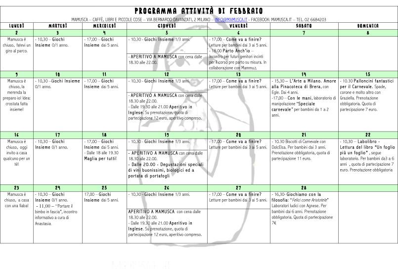 Febbraio programma -1