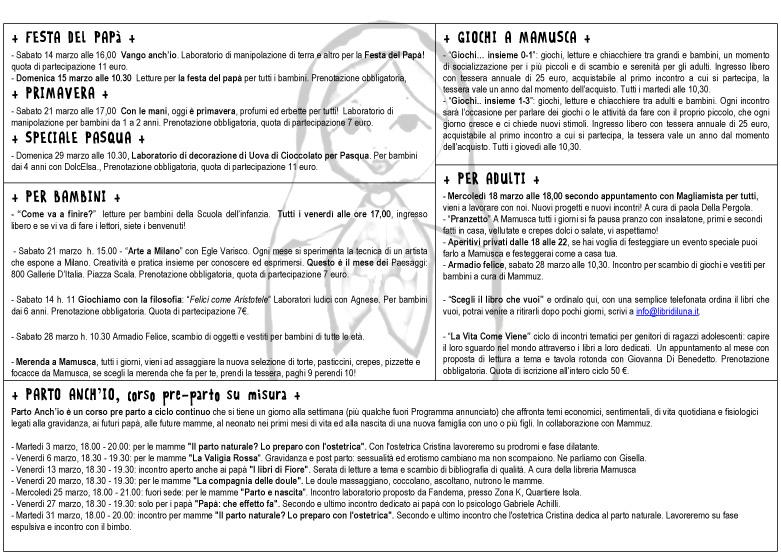 marzo programma -2