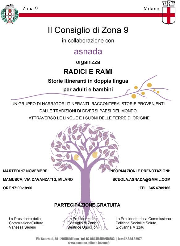 RADICI E RAMI 17 novembre